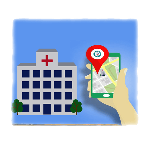 Search Online Hospital Near You